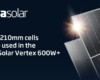 Trina Solar to Add 10GW in Annual Production Capacity of Ultra-High-Efficient 210mm Solar Cells